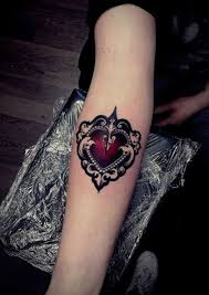 download 5 heart tattoo danielhuscroft com