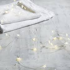 star fairy lights the white company winter u0026 christmas