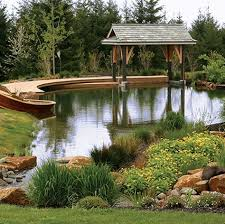 Retention Pond In Backyard Landscaping Ideas For Around A Large Pond Landscaping Ideas