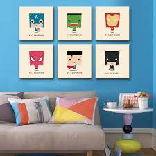 free shipping hd oil painting box superman series painting mini