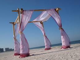 Bamboo Chuppah Big Bold And Beautiful Bamboo Beach Wedding Chuppah Arch Kit