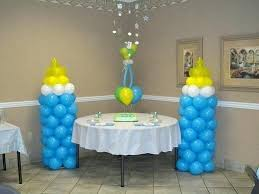 baby boy shower decorating ideas baby shower balloons decorations gorgeous baby boy shower balloon