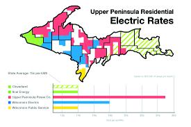Upper Michigan Map High Electric News Sports Jobs The Mining Journal