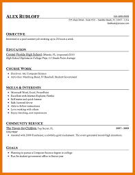 6 resume objectives for students in high budget reporting