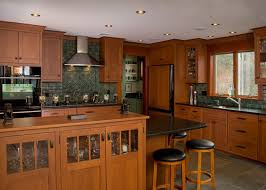 Craftsman Kitchen Cabinets Elegant Craftsman Style Kitchen Cabinets 72 In Small Home Remodel