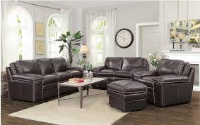 Top Leather Sofas by Regalvale Top Grain Leather Sofa Set Collection Coaster 505845