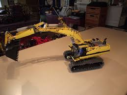 lego technic 8043 r c excavator my lego technic collection