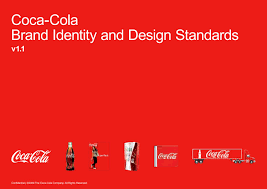 coca cola brandbook brand identity and design standars by logobr