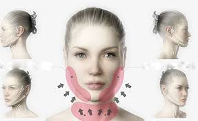 flattering hairstyles for double chins or sagging necks amazon com face v line chin up lift contouring belt neck line