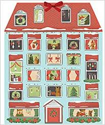 forest friends christmas house advent calendar galison quill and