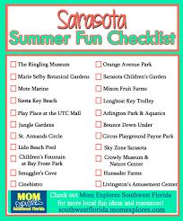 sarasota summer checklist explores southwest florida