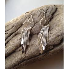 earrings uk sterling silver chandelier earrings boho earrings dangle earrings