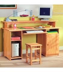 bureau informatique en bois bureau en bois design ou bureau en bois massif meubles en bois