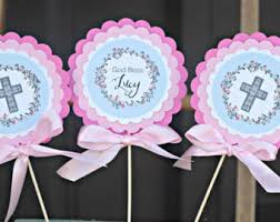 first communion package baptism decorations first