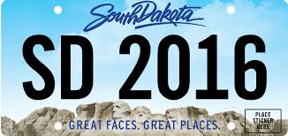 South Dakota where to travel in january images 2016 license plates jpg