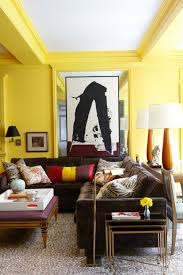living room amusing family room with yellow living room interior