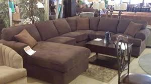 Ashley Furniture Leather Sectional With Chaise Ashley Furniture Sectional Sofa Dixon Durablend Chocolate