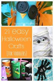 Halloween Craft Kids - 21 easy halloween crafts for preschoolers happy hooligans