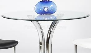 Glass Topped Dining Tables 311 Glass Top Dining Table U0026 2 Chairs 3pc Set By Chintaly