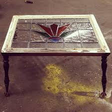 Upcycled Side Table Upcycled Side Table English Stained Glass Window And Claw U2026 Flickr