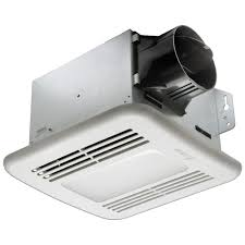 nutone 100 cfm ceiling exhaust bath fan with light and heater