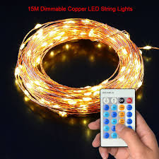led cer awning lights 15m 150pcs beads led strip lights dimmable waterproof copper wire