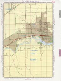 Idaho Falls Map Post Falls Map