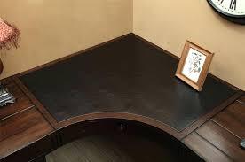 Simple Corner Desk Plans Desk White Corner Desk With Wood Top Ikea Corner Wooden Desk
