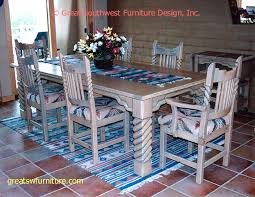 Southwest Dining Room Furniture Great Southwest Dining Set Tables Chairs China Cabinets