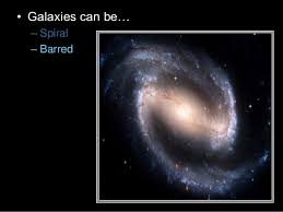 galaxy types of galaxies astronomy lesson powerpoint