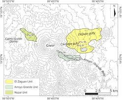 Mexico Volcano Map by Quaternary Sector Collapses Of Nevado De Toluca Volcano Mexico