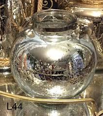 mercury glass ball lights silver mercury glass ball lanterns with fairy lights glass slipper