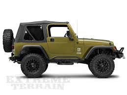 jeep rock crawler buggy review redrock 4 4 rocker guards for jeep wrangler tj