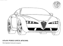 pin car coloring pages