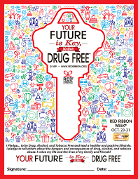 signing your future is key so stay drug free commitment