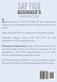 amazon com sap fico beginner u0027s hand book your sap user manual
