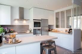 et cuisine home epure et design pour une cuisine verrière à neuilly laurence
