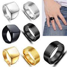 ring men men s signet rings ebay