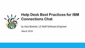 Ibm Service Desk Software Technical Support Chat Ibm Mediacenter