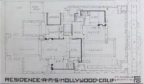 Eames House Floor Plan by Schindler Chace House The Construction