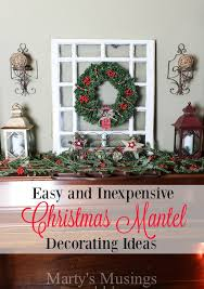 Christmas Decorating Ideas Mantels by Christmas Mantel Decorating Ideas Marty U0027s Musings