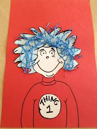 thing 1 u0026 thing 2 dr seuss craft for preschoolers