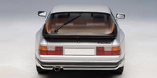 porsche 944 model kit porsche 944 turbo 1985 die cast model autoart 77956