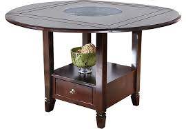 cheap counter height table landon chocolate round counter height dining table dining tables