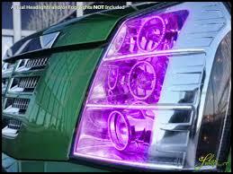 cadillac escalade fog lights 07 14 cadillac escalade led colorshift halo rings headlights bulbs