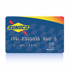 apply for sunoco mastercard credit card check application status
