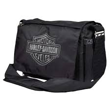 Harley Davidson Baby Bed Set Harley Davidson Baby Embroidered Bar And Shield Diaper Bag Black