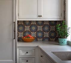 budget home staging tips vinyl tile kitchen backsplash makeover