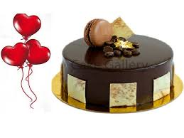 balloon and cake delivery chocolate cake and balloon combo cake delivery sharjah online