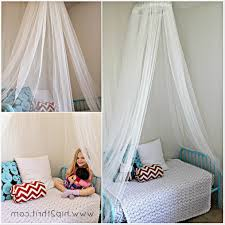toddler bed canopy diy room organization and storage ideas office